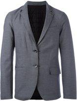 Emporio Armani padded single breasted blazer