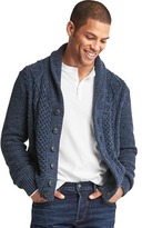 Gap Cable knit button cardigan