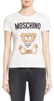 Moschino Women's Teddy Bear Logo Tee