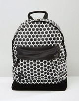 Mi-Pac Honeycomb Backpack In Black