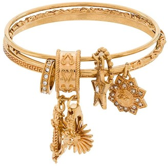 Versace Medusa logo charm bracelet