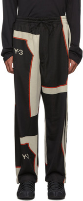 Y-3 Y 3 Black Colorblock Lounge Pants