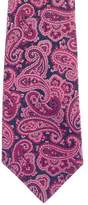 Turnbull & Asser Paisley Jacquard Silk Tie