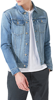 Jigsaw Japanese Selvedge Denim Jacket, Stonewash