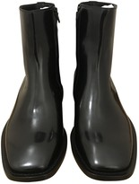 Balenciaga Black Patent leather Boots