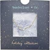 Wanderlust + Co Gemini Cosmic Necklace in