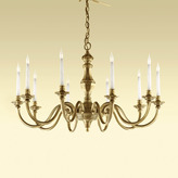 Houseology Chelsom Georgian Chandelier English Antique