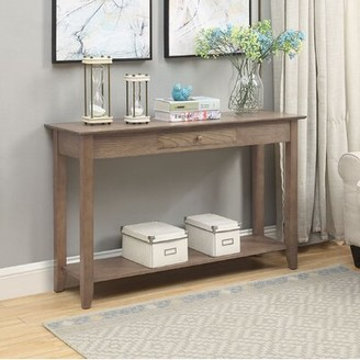 """Three Posts Inman 48"""" Console Table Color: Driftwood"""