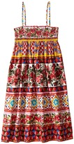 Dolce & Gabbana Mambo Poplin Dress Girl's Dress