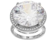 JLO by Jennifer Lopez Red Carpet Ready Cubic Zirconia Halo Ring