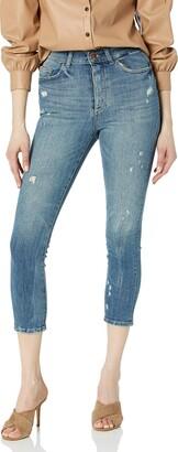 DL1961 Women's Farrow Skinny HIGH Rise Instasculpt Crop Jean