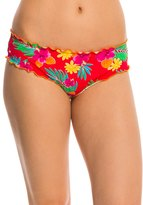 Hobie Tropical Locales Scalloped Hipster Bikini Bottom 8140351