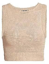 Rachel Comey Women's Lois Crochet Tank Top
