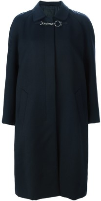 Prada Pre Owned Single Breasted Coat