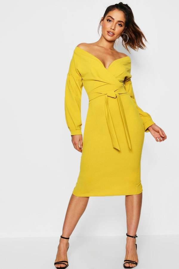 c686e59af509 boohoo Yellow Floral Print Dresses - ShopStyle UK