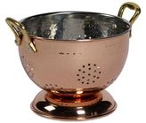 Tabletops Unlimited 5.75-Inch Mini Colander in Copper