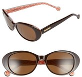 Jonathan Adler Women's 'Palm Beach' 53Mm Cat Eye Sunglasses - Black