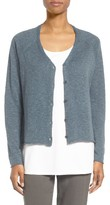 Eileen Fisher Women's Slubbed Organic Linen & Cotton Cardigan