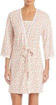 Cosabella Claire Print Pima Cotton Jersey Robe