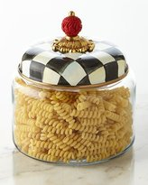 Mackenzie Childs MacKenzie-Childs Small Courtly Check Canister