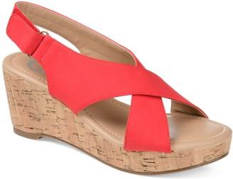 Journee Collection Jenice Women's Wedge Sandals