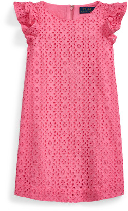 Ralph Lauren Eyelet Cotton Dress
