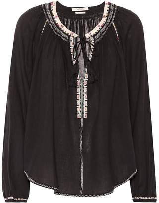Isabel Marant Isabel Marant, ãToile Rina embroidered cotton top