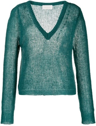Chiara Bertani Chunky Knit Sweater