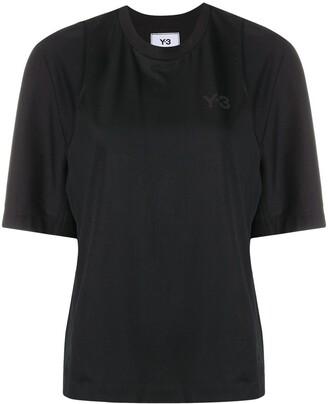 Y-3 panelled logo cotton T-shirt