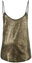RtA metallic cami top - women - Silk - XS