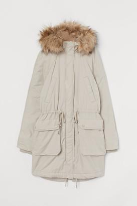 H&M Cotton twill parka