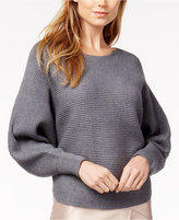 Bar III Ribbed Sweater, Created for Macy's