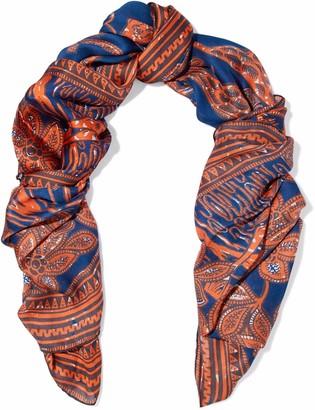 Valentino Printed Silk-voile Scarf
