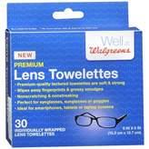 Walgreens Premium Lens Towelettes