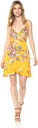 MinkPink Women's Tokyo Wrap Dress