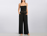 Robin Piccone Laurel Jumper With Crochet Waist