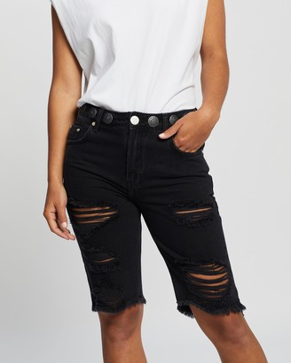 One Teaspoon Concho Cut-Off Relaxed Shorts