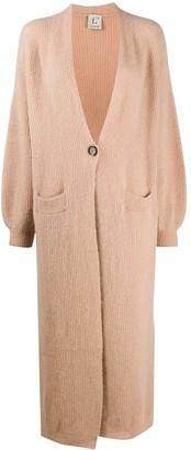 L'Autre Chose Long Knitted Cardi-Coat