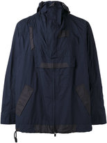 Sacai panel anorak - men - Cotton/Polyester - 2