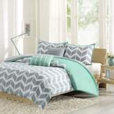 Bed Bath & Beyond Nadia Reversible Twin/Twin XL Duvet Cover Set in Teal