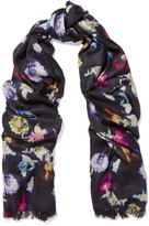 Lily & Lionel Renee printed silk scarf