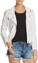 Blank NYC Blanknyc White Denim Moto Jacket - 100% Exclusive