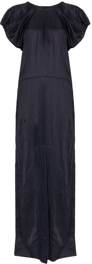 Jil Sander drop-waist maxi dress