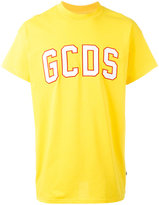 Gcds - logo patch T-shirt - men - Cotton - XS