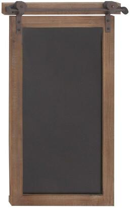 Uma Enterprises New Traditional Wood Metal Chalkboard