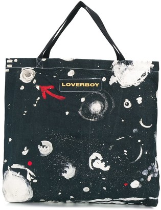 Charles Jeffrey Loverboy Asteroids Print Tote Bag