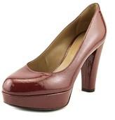 Lerre Y002 Open Toe Patent Leather Platform Heel.