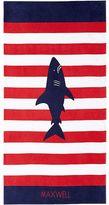 Pottery Barn Kids Shark Classic Stripe Kid Beach Towel