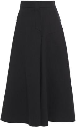 GOEN.J Cotton-gabardine Midi Skirt