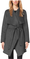 Michael Kors Belted Double-Face Wool Coat